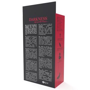 Plug anale con coda 8cm - Darkness