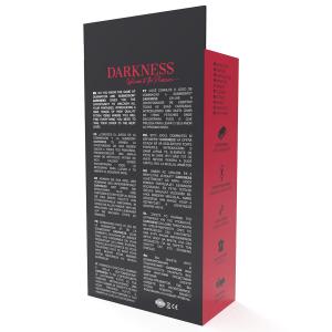 Manette nere in morbida pelle - Darkness