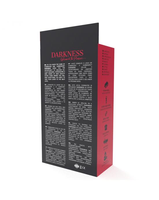 Polsini in pelle regolabili con federa interna - Darkness