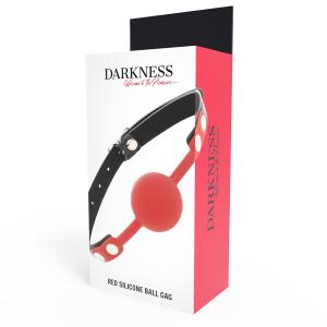 Darkness - Morso in silicone rosso