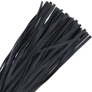 Flogger nero in pelle 42cm - Darkness