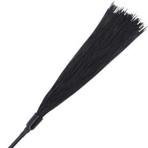 Crop Flogger nero - Darkness