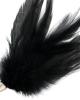 Piumino nero 17cm - Darkness