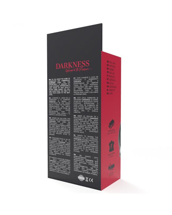 Morso in pelle nero Darkness