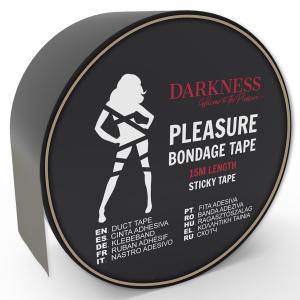 Nastro nero BDSM 15cm - Darkness