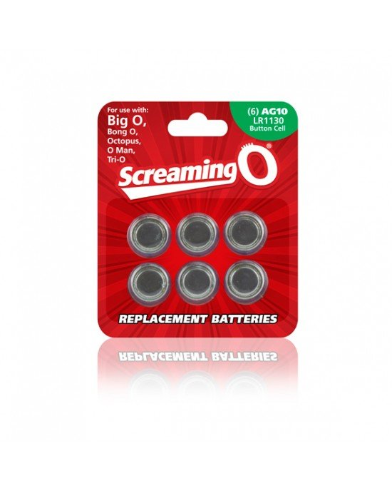 Batterie di ricambio AG10 - Screaming O