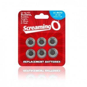Batterie di ricambio AG13 - Screaming O