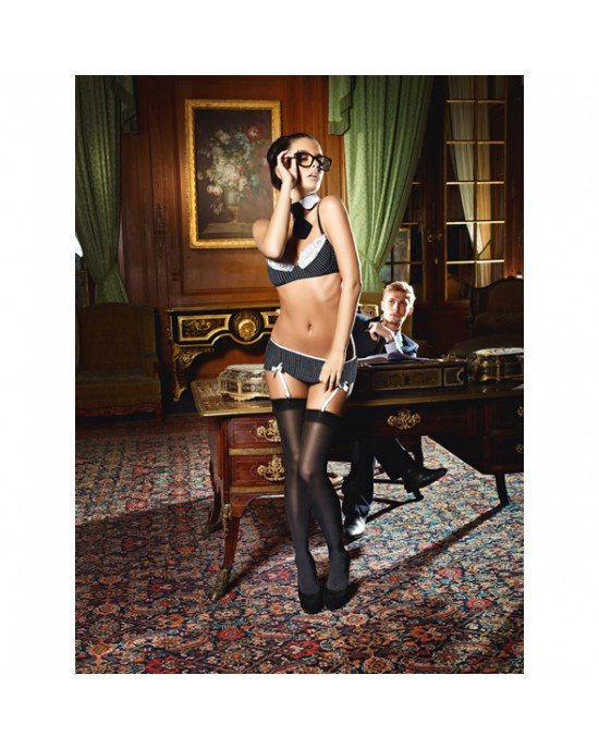 Completo Sexy Secretary S/M - Baci lingerie