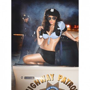 Costume Highway Patrol Set - Baci lingerie