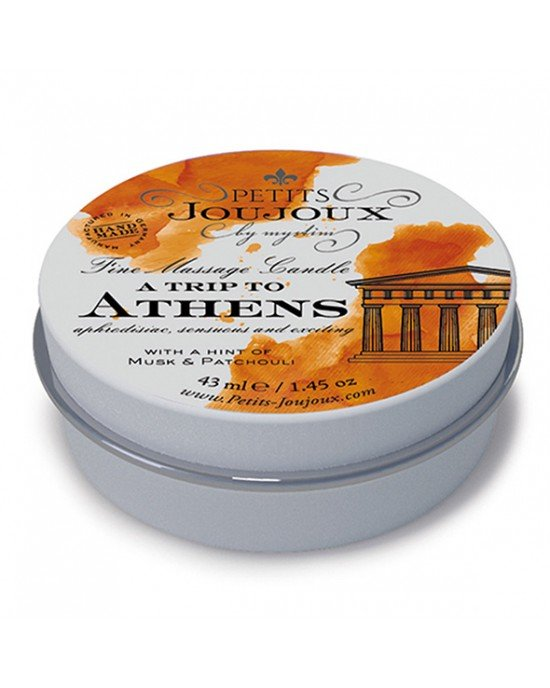 "Mini candela da massaggio ""Athens"" - 43 ml"
