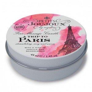 "Mini Candela da massaggio ""Paris"" - 43 ml Petits Joujoux"