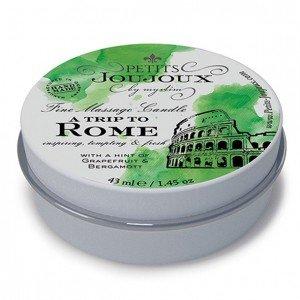 """Mini Candela da massaggio """"Rome"""" 43 ml Petits Joujoux"""