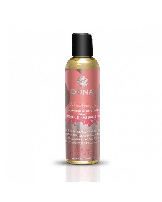 Olio massaggi Burro alla Vaniglia 110ml - Dona