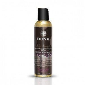 Olio massaggi Mousse al Cioccolato 110ml - Dona
