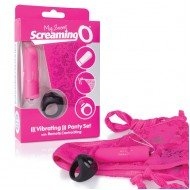 Set Panty fucsia - The Screaming O