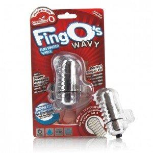 Vibratore Fingo Wavy trasparente - The Screaming O
