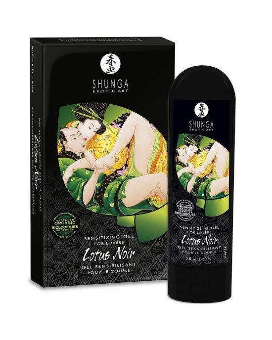 Gel stimolante lotus noir - Shunga