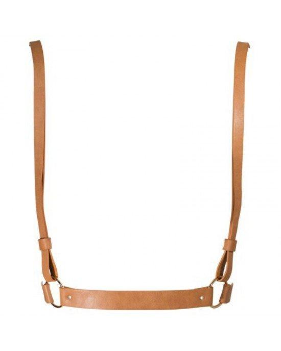 Imbracatura X, marrone - Bijoux Indiscrets