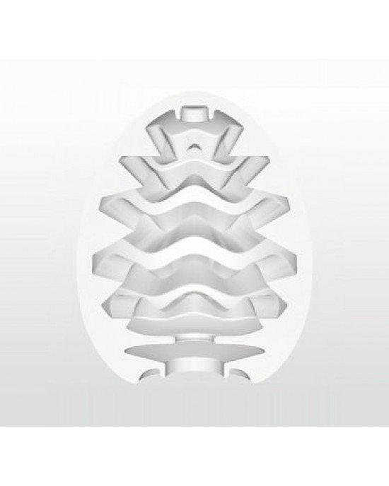 Uovo masturbatore wavy - Tenga