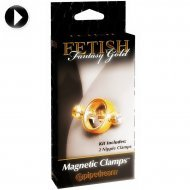 Magneti per capezzoli - Fetish Fantasy Gold