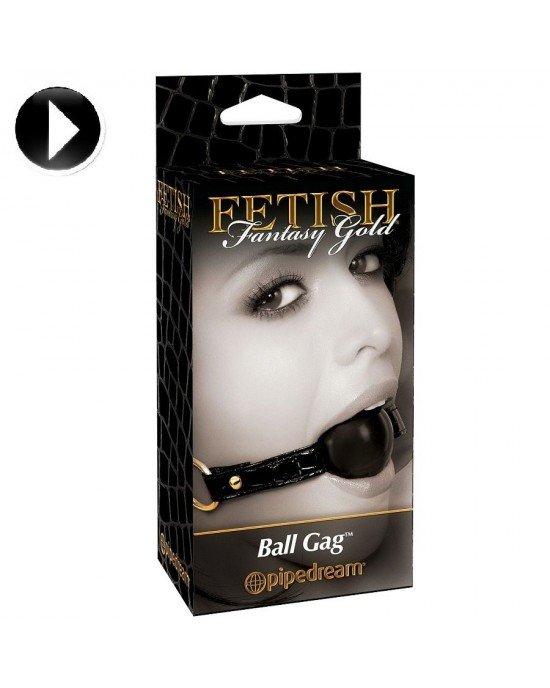 Ball Gag - Fetish Fantasy Gold