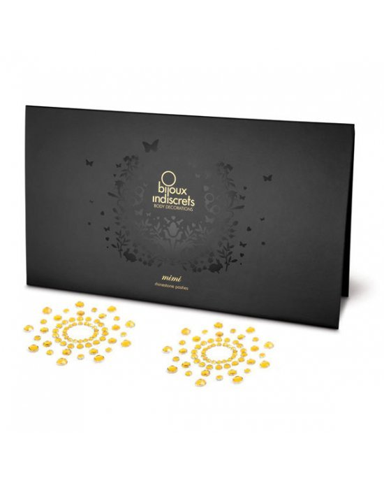 Copricapezzoli dorato - Bijoux Indiscret