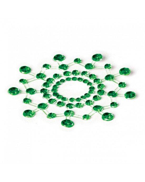 Copricapezzoli verdi - Bijoux Indiscrets