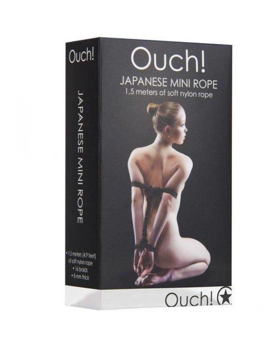 Corda mini Japonesa nero - Ouch