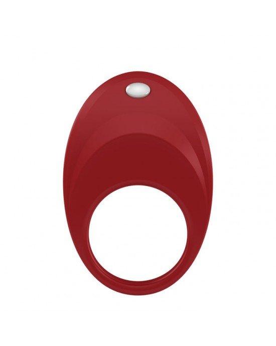 Anello vibrante B7 rosso - Ovo
