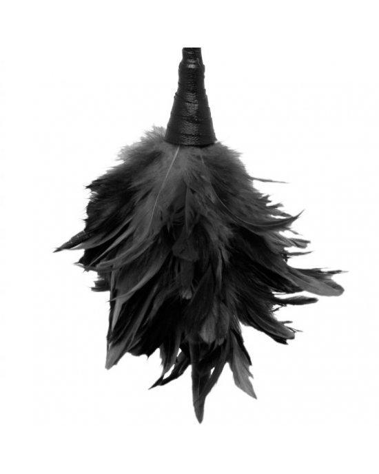 Piumino nero per massaggi - Fetish Fantasy Series