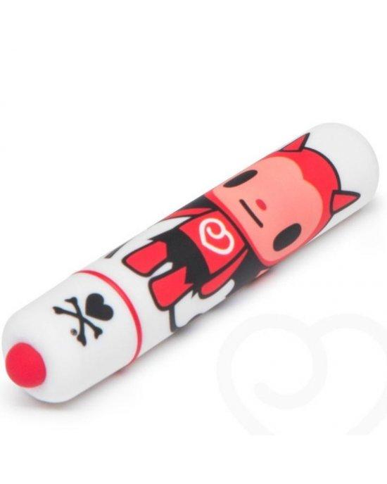 Vibratore mini bianco/diavoletto - Tokidoki