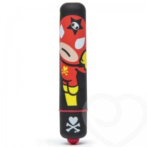 Vibratore mini nero/rocket man - Tokidoki