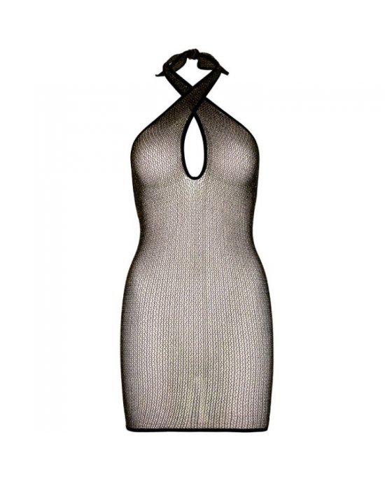 Mini vestito a rete nero - T/U - Leg Avenue