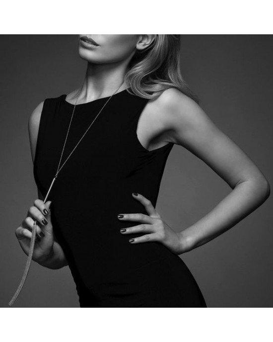 Collana gioiello con frusta argento - Bijoux Indiscrets