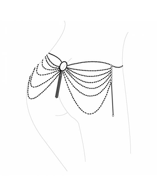 Catena gioiello argento per fianchi - Bijoux Indisxcrets