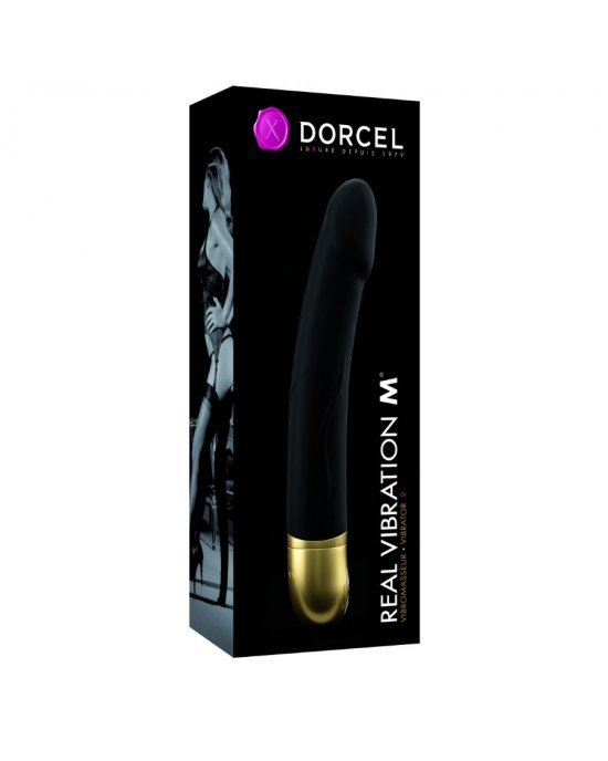 Vibratore 7 ritmi nero M - Marc Dorcel