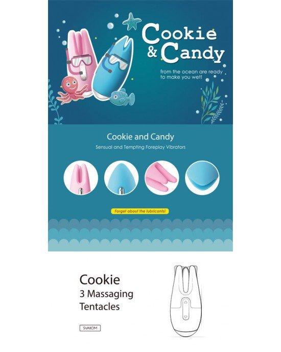 Vibratore Candy celeste - Svakom