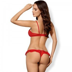 Obsessive - Set Intimo Rosso S/M