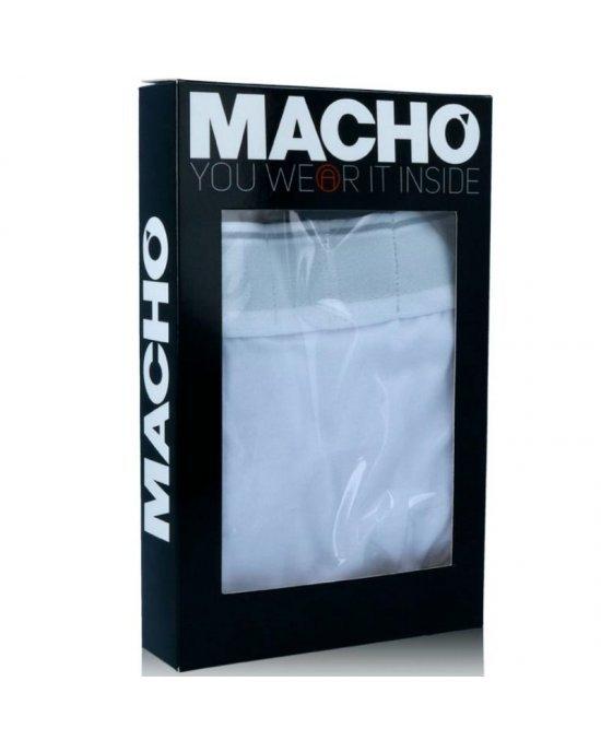 Boxer Sport Bianco XL - Macho