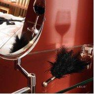 Piumino solleticatore nero - Lelo