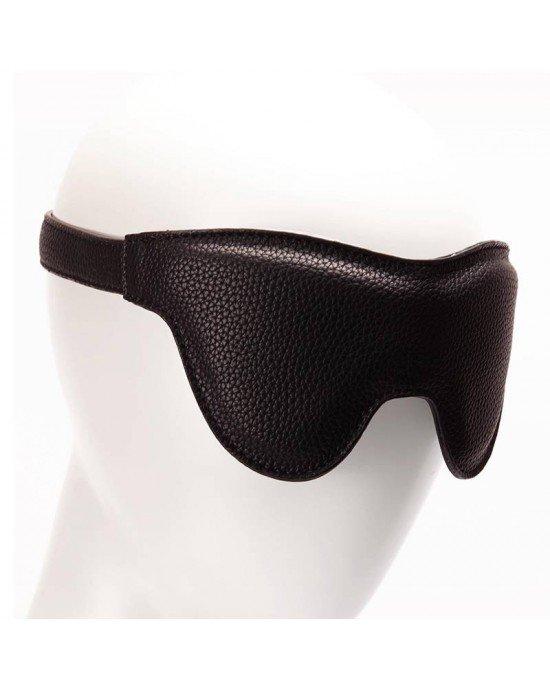 Mascherina per occhi in ecopelle con fibie - Pornhub