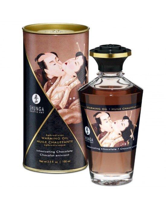 Olio afrodisiaco risaldante cioccolato - Shunga
