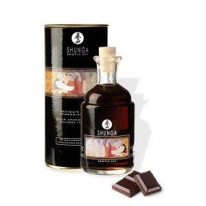 Olio afrodisiaco riscaldante cioccolato - Shunga