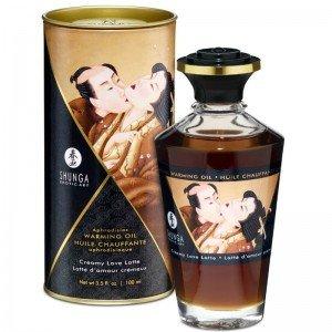 Olio afrodisiaco riscaldante latte cremoso - Shunga