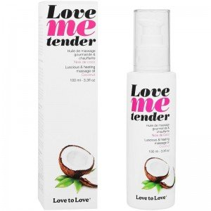 "Olio da massaggio al cocco ""Love me tender"" - Love to Love"