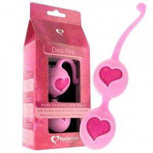 Palline geisha Desi rosa - Feelz Toys