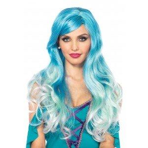 Parrucca Mermaid celeste - Leg Avenue