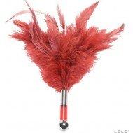 Piumino solleticatore rosso - Lelo