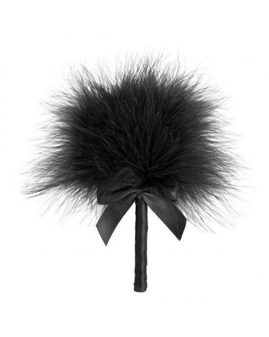 Piumino stimolatore nero - Bijoux Indiscrets