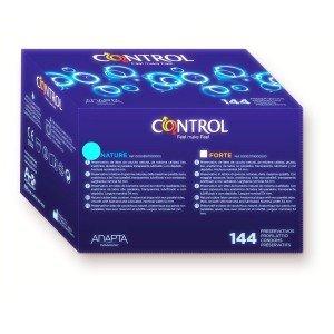 Preservativo adapta nature confezione 144 pezzi - Control